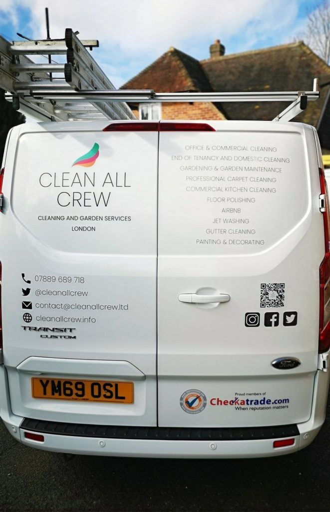 Clean All Crew Van