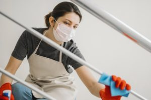 Social Distancing Cleaner